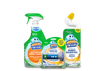 Scrubbing Bubbles® Products & Cleaning Tips