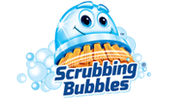 Logotipo de Scrubbing Bubbles