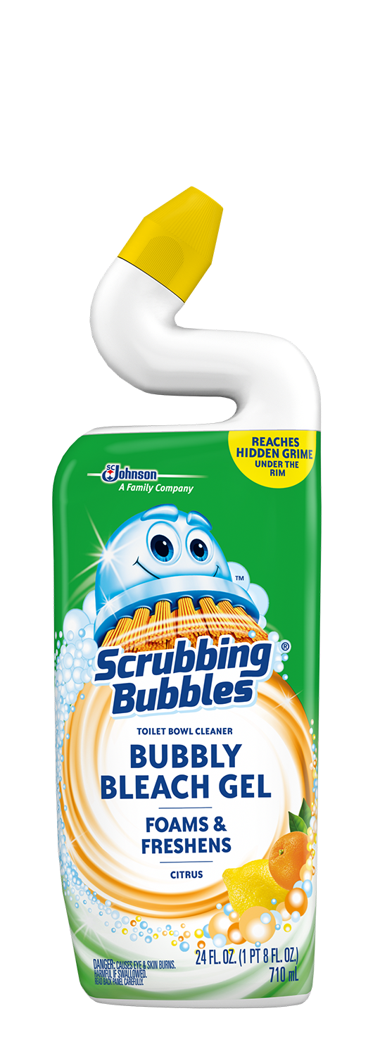 Scrubbing Bubbles Bubbly Bleach Gel Citrus