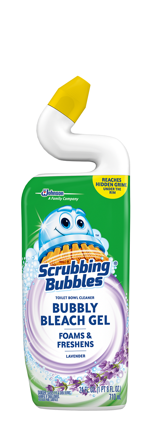 Scrubbing Bubbles Bubbly Bleach Gel - Lavender
