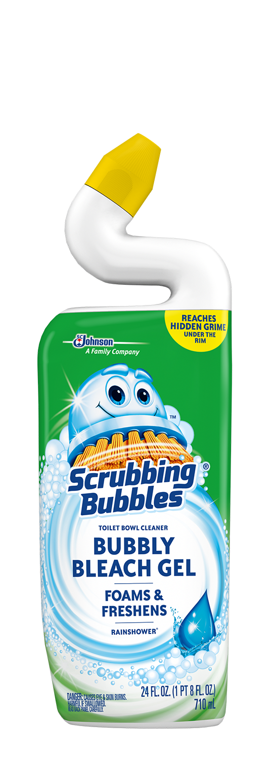 Scrubbing Bubbles Bubbly Bleach Gel - Rainshower