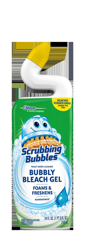 Scrubbing Bubbles Bubbly Bleach Gel - Rainshower