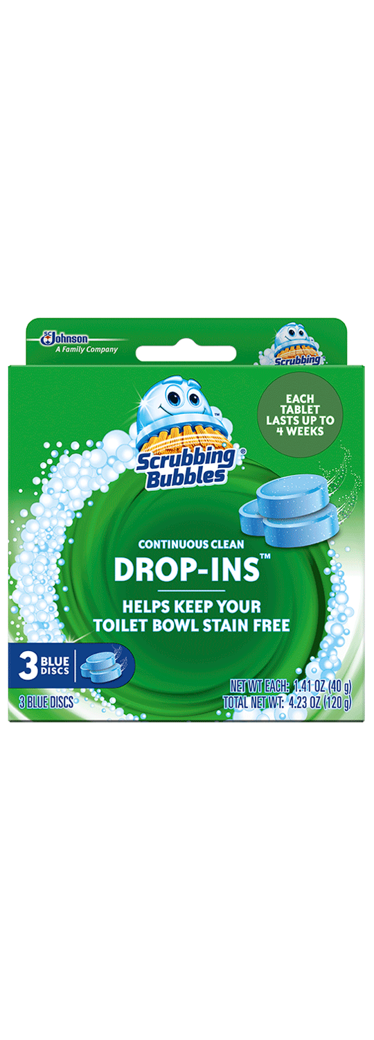 Scrubbing Bubbles Drop ins 3 Pack