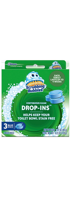 Scrubbing Bubbles Drop ins - Paquete de 3