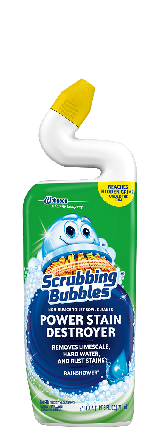 Scrubbing Bubbles Extra Power Rainshower