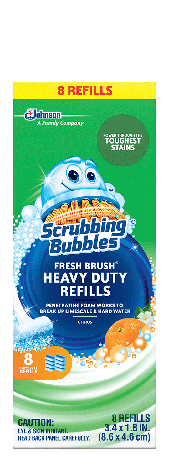 Scrubbing Bubbles Fresh Brush Heavy Duty Refill