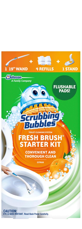 Scrubbing Bubbles Fresh Brush Kit inicial y organizador