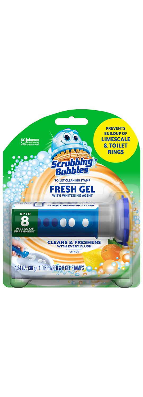 Scrubbing Bubbles Fresh Gel Citrus Hydrogen Peroxide