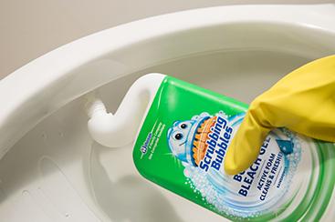 scrubbing bubbles - cómo utilizar el bubbly bleach